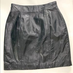 Leather by Wilson's Leather Skirt size 10